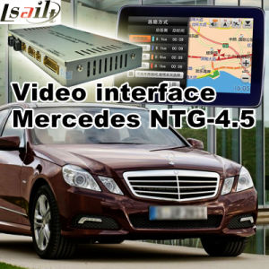 Car Video Interface for Mercedes-Benz Ntg 4.5 a B C E Glk Ml Class, Android Navigation Rear and 360 Panorama Optional pictures & photos