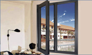 Energy Efficient Aluminium Double Glazed Casement Windows pictures & photos