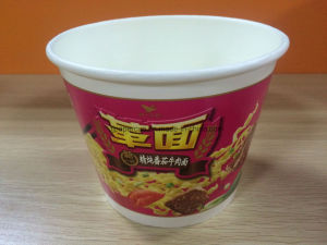 Kosher 65g Vegetable Flavor Instant Noodle Cups pictures & photos