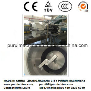 Plastic Single Screw Extrusion Machinery for Recycling Non-Printed Film Roller pictures & photos