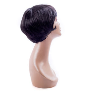 Short Hair Wig Factory Price Synthetic Full Lace Wig pictures & photos