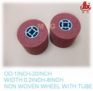 100mmx 100mm Cross Hole Polishing Grinding Wheel pictures & photos