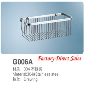 Stainless Steel Bathroom furniture Towel Shelf (G006A) pictures & photos