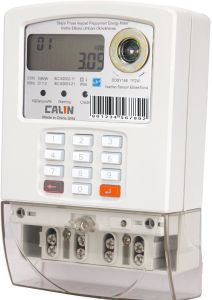 Smart Single Phase Sts Keypad Prepaid Meter pictures & photos