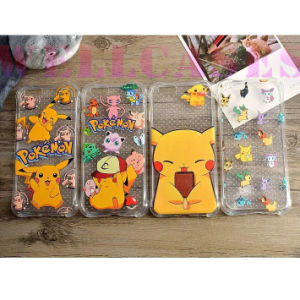 Pokemon Pikachu Shockproof Air Cushion Rubber Phone Cover/Case Full Covered pictures & photos