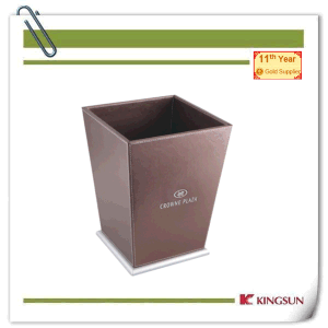 Hotel Leather Products Recycle Bins pictures & photos