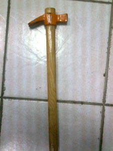 21mm Italy Type Claw Hammer with PVC Handle pictures & photos