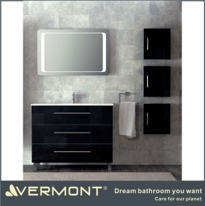 China black gloss bathroom cabinet china bathroom cabinet bathroom furniture - Bathroom cabinets black gloss ...