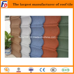 Manufacturer of Colorful Stone Coated Metal Roof Tile