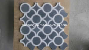 Water-Jet Marble Medallion for Interior Decoration 03 pictures & photos
