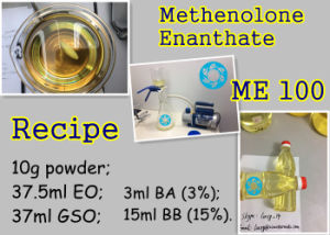 Muscle Enhance Steroid Hormone Methenolone Enanthate with Special Packing Primobolan pictures & photos