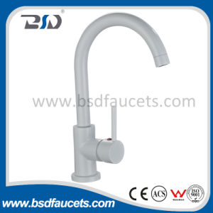 The Colorful Single Handle Painted White Sink Mixer pictures & photos
