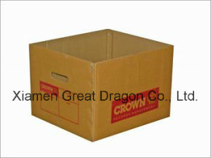 Cardboard Packing Mailing Moving Shipping Boxes Corrugated Cartons (GD732) pictures & photos