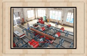 Automatic Pipe Spool Fabrication Production Line/Solution pictures & photos