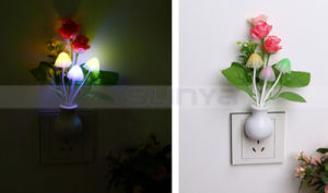 Multi Shapes Mini LED Light Sensor Wall Lamp Night Light pictures & photos