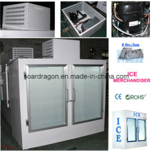 Ice Freezer DC-750 with Double Glass Doors pictures & photos
