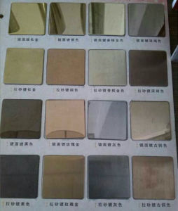 SUS Sapphire Color Stainess Steel Sheet pictures & photos