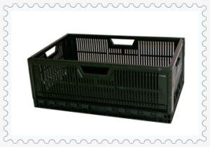 Foldable Supermarket Plastic Box Storage, Foldable Plastic Box Storage with Outside Size 600X400X 235mm