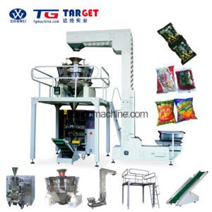 Unique Manufacture 6 Station Premade Bag Granule Packing Machine pictures & photos