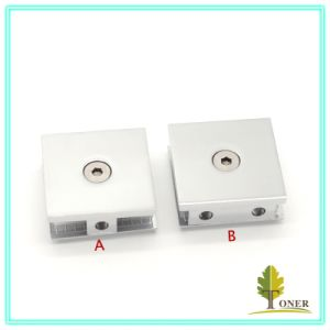 Hhot-Sale 0 Degree Arc Edge Glass Clamp/ Zinc Alloy Glass Clamp pictures & photos