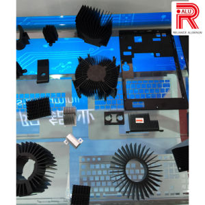 Aluminum/Aluminium Alloy Extruded Profiles of Heat Sink pictures & photos