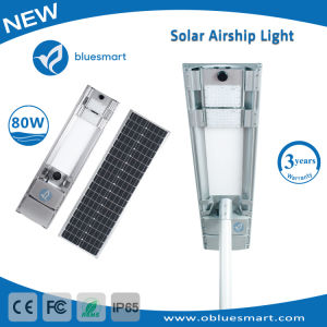 80W Integrated Solar Motion Sensor LED Light with Solar Panel pictures & photos