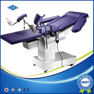 CE Electro-Hydraulic Delivery Table for Gynaecology and Obstetrics pictures & photos