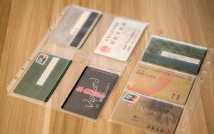 Simple Design PVC Clear Card Bag pictures & photos