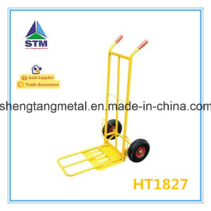 Ht1827 Folding 200kgs Capacity Hand Trolley with Foldable Plate pictures & photos