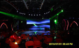 Indoor Full Color LED Curtain of P7.62 pictures & photos