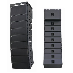 Dual 10 Inch Line Array Muscical Instrument DJ Equipment in Guangzhou pictures & photos