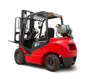 JAC 3ton LPG Forklift Truck with Nissan Engine pictures & photos