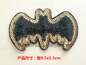 Fashion Promotion Sequin Embroidery Patch for Clothing DIY Accessories Badge pictures & photos
