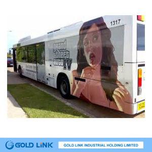 Adhesive Vinyl Graphic on Bus Advertisement (GP5100) pictures & photos