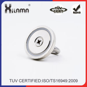 Countersunk N35 Permanent Neodymium NdFeB Pot Magnet of Magnetic Assembly pictures & photos