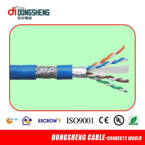 CAT6 SFTP Network Cable with CE, RoHS, ISO pictures & photos