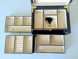 New Luxury High Gloss Piano Finish Wooden Jewellery Box pictures & photos