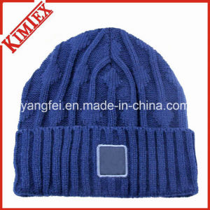 100% Acrylic High Quality Custom Knitted Hat Beanies pictures & photos