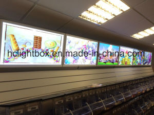 Single Side Magnetic Crystal Slim LED Light Box pictures & photos