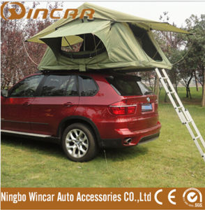 Camping Tent with Side Awning