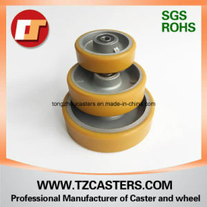 PU Wheel with Aluminum Center 4inch/5inch/6inch/8inch pictures & photos