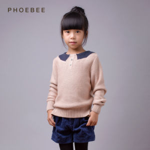 Knitted Kids Clothing Children Sweaters for Girls pictures & photos