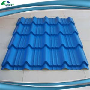 Pre-Painted Colored Coated Galvanized Corrugated Steel Roofing Plate