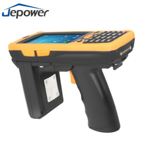 Android UHF RFID Handheld Reader with NFC and Barcode Scanner pictures & photos