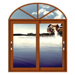 Feelingtop High Quality Custom Double Glass Aluminium Sliding Window for Houses pictures & photos