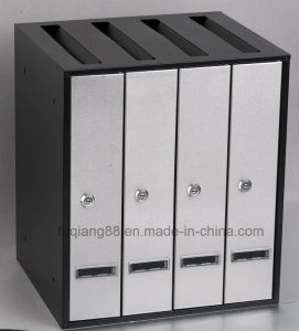 Outdoor Stainless Steel Combined Mailbox with Lock pictures & photos