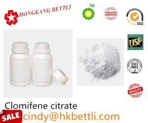Anti-Estrogen Steroids Powder Clomifene Citrate 50-41-9 pictures & photos