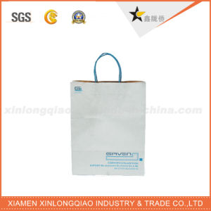 Customized Colorful Printed C2s Paper Twisted Handle Shopping Paper Bag pictures & photos