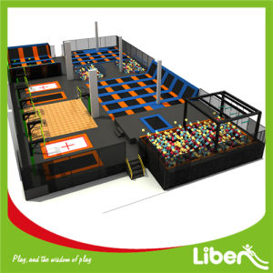 Kids and Adults Super Fun Customized Big Buy Indoor Trampoline World pictures & photos