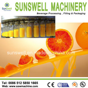 Juice Filling Machine (linear type) /Tea Juice Filling Line pictures & photos